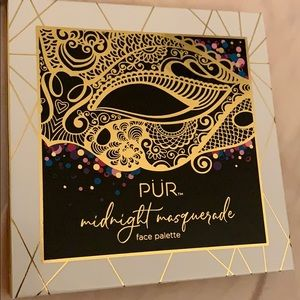 NEVER USED PÜR midnight masquerade face palette
